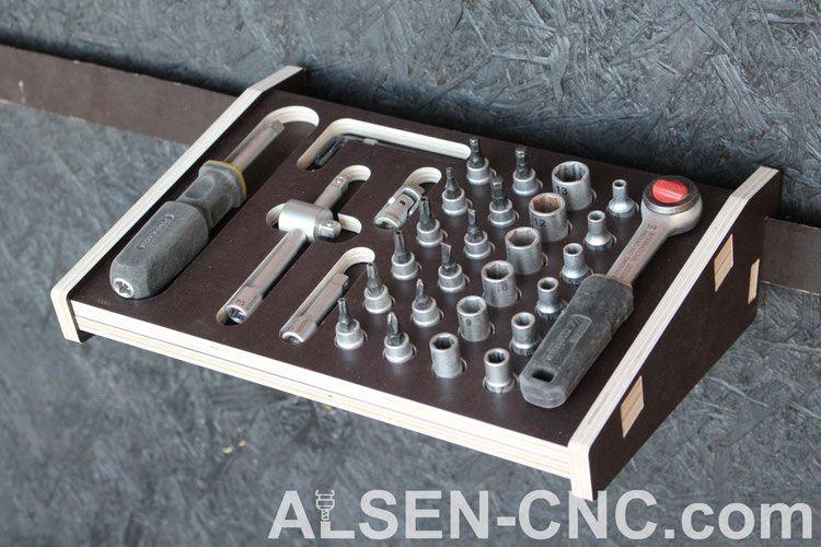French Cleat - Handwerkzeughalter - ALSEN-CNC #caixasdemadeira