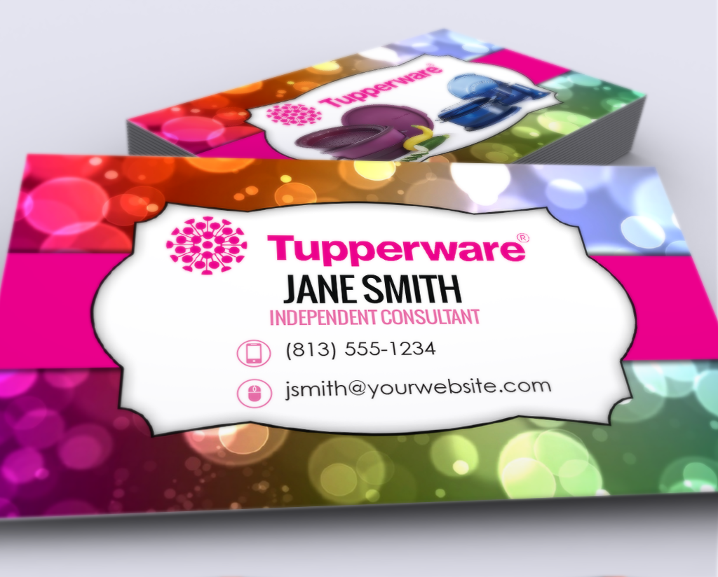 Tupperware business cards tupperware business cards colourmoves