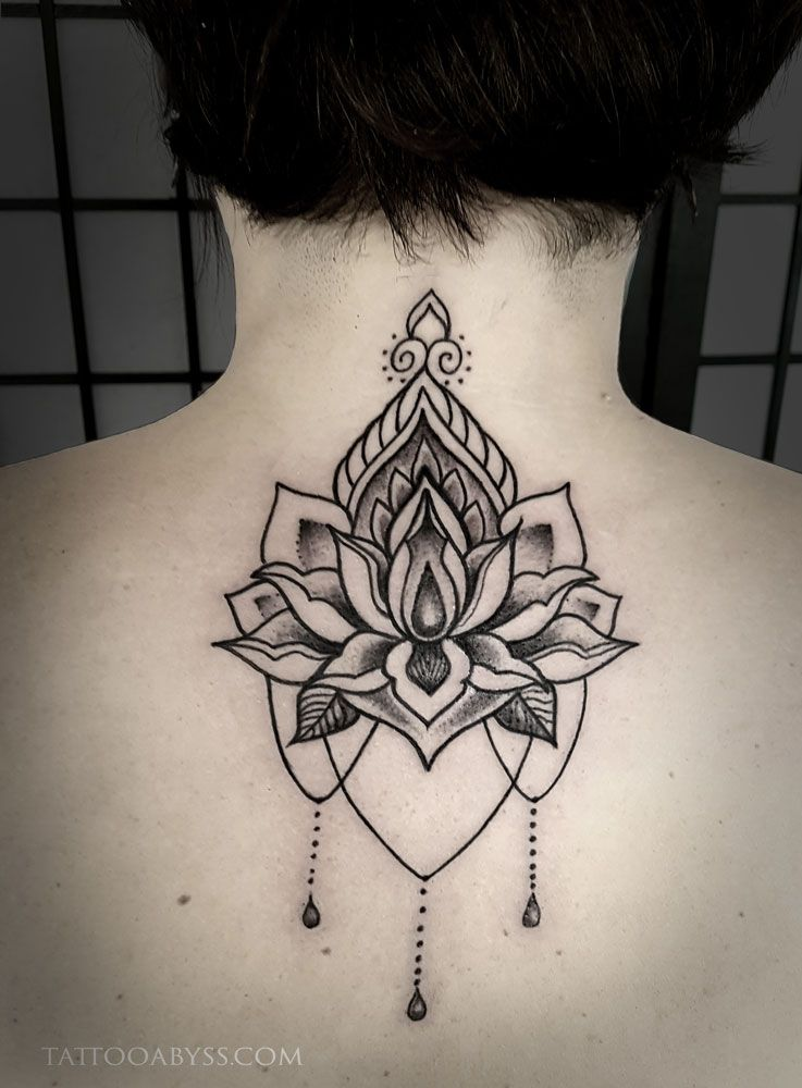 c890796d7 Lotus Mandala done by Abby at Tattoo Abyss in Montreal. | Abby ...