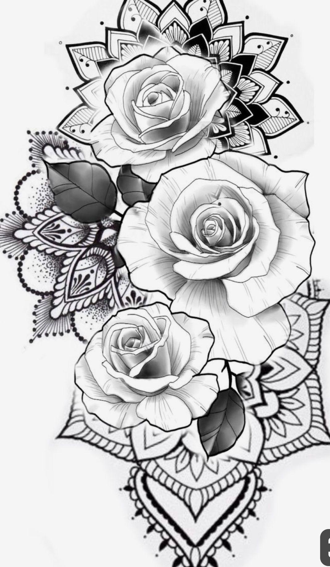 Mandala Flowers -   - #1998tattoo #candletattoo #daffodiltattoo #Flowers #maketattoo #Mandala #memorabletattoos #misunderstoodtattoo #smalltattoo #tattooblackwork #tattoostattoo