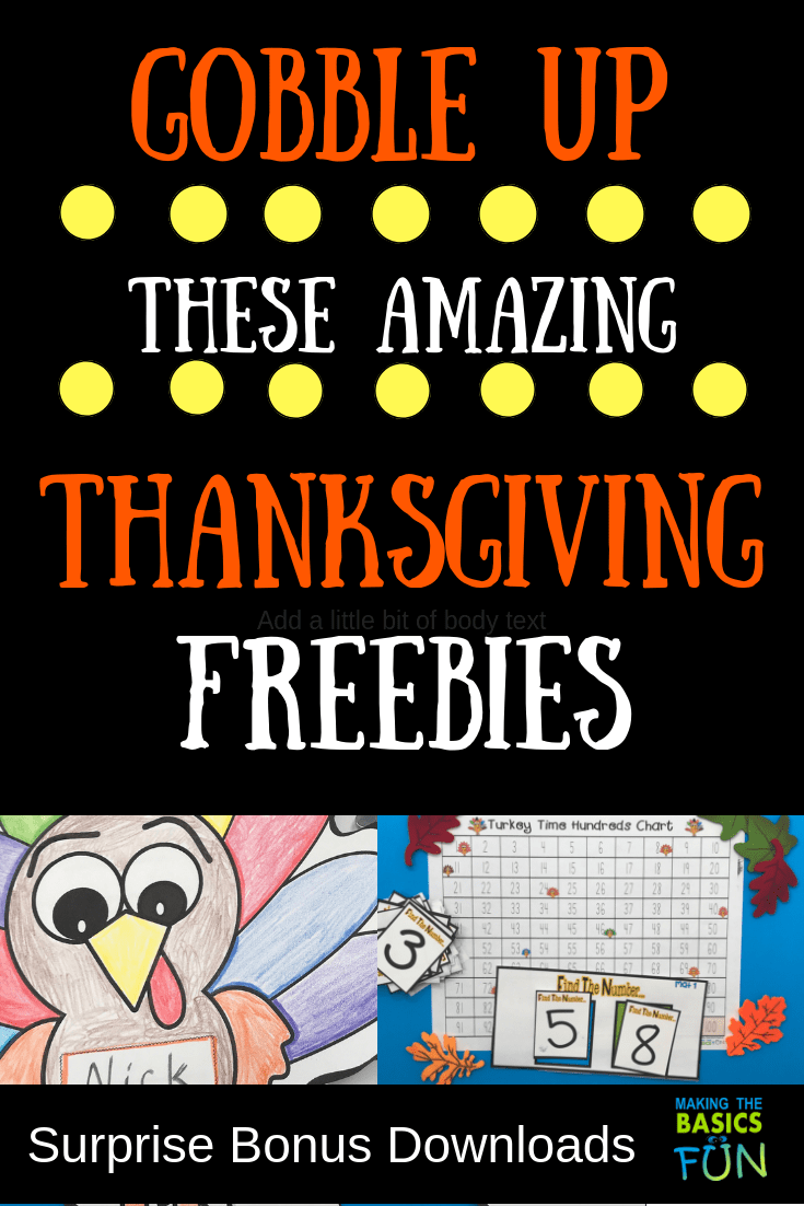 Gobble Up These Amazing Thanksgiving Freebies