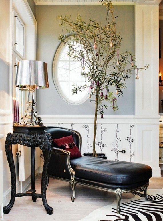 Superb Ideen Vintage Weihnachtsdeko Olivenbaum Kugeln