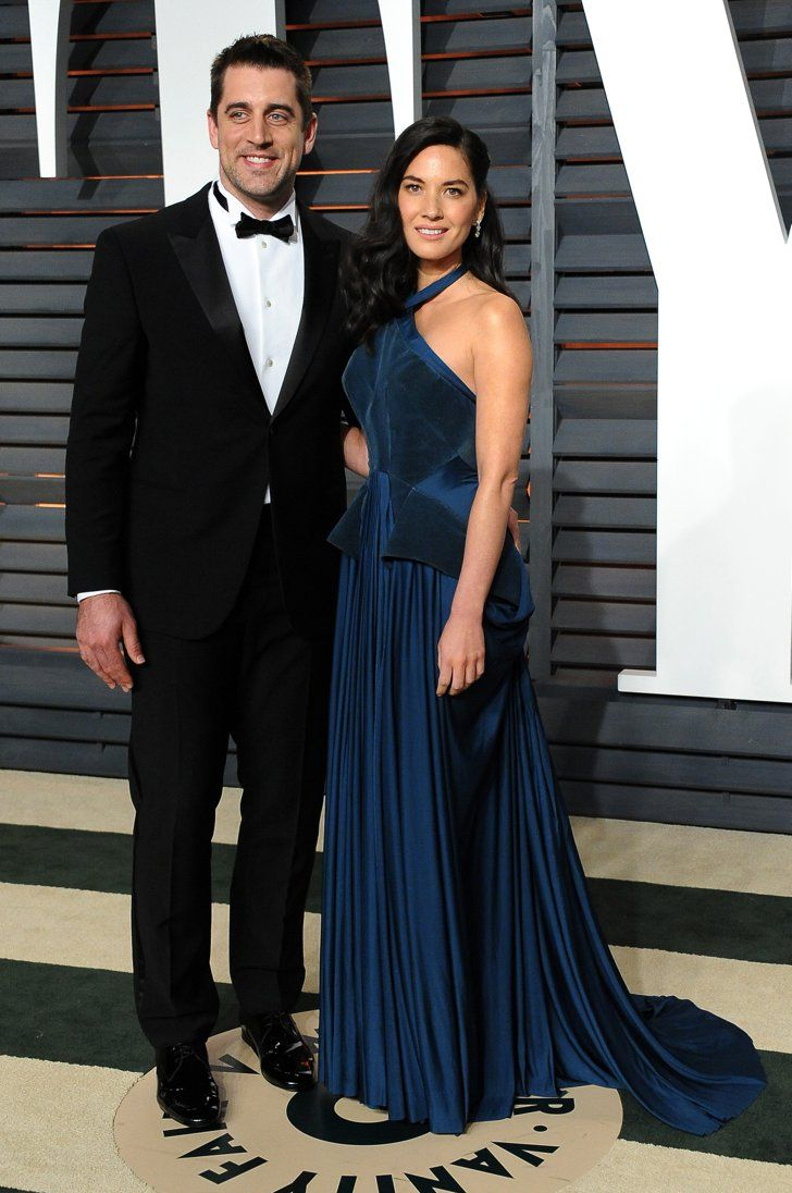 Aaron Rodgers And Olivia Munn Olivia Munn Aaron Rodgers Celebrity Style Red Carpet