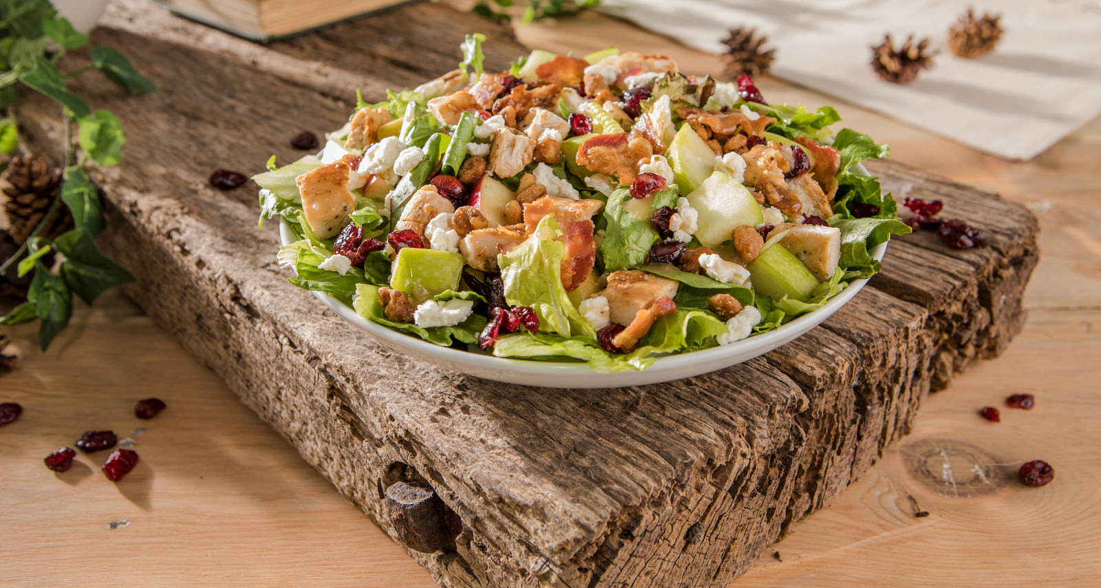 Wendy's Just Dropped Its FirstEver Fall Salad Healthy