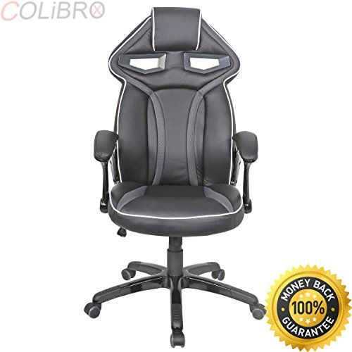 Marvelous Colibrox Racing Bucket Seat Office Chair High Back Gaming Frankydiablos Diy Chair Ideas Frankydiabloscom