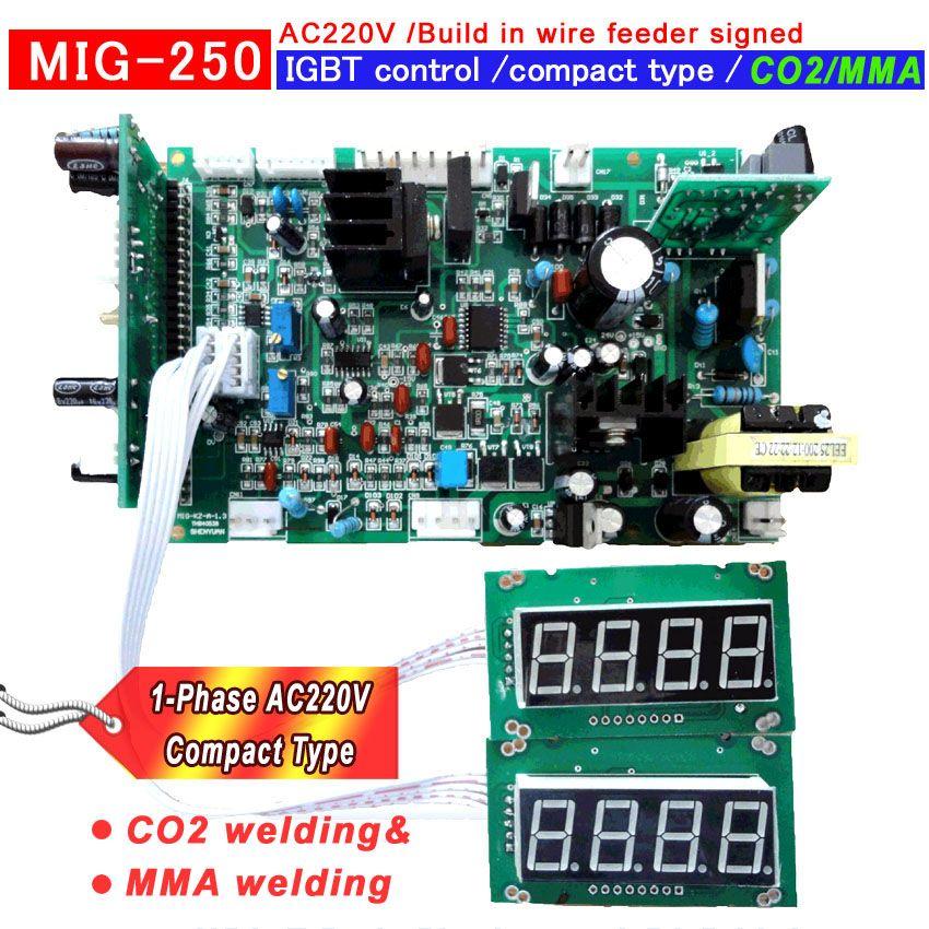 NEW MIG 250 Build-in wire feeder copact type IGBT welding machine ...