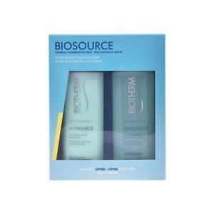 a set de cosmetica mujer biosource duo pnm biotherm 2 pcsbiotherm
