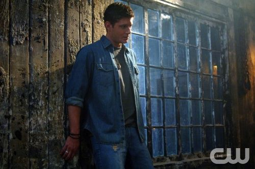 """Supernatural """"Devil's Trap"""" (Episode #121) Image #SN121-0060 Pictured: Jensen Ackles as Dean Winchester  Credit: © The WB/Sergei Bachlakov"""