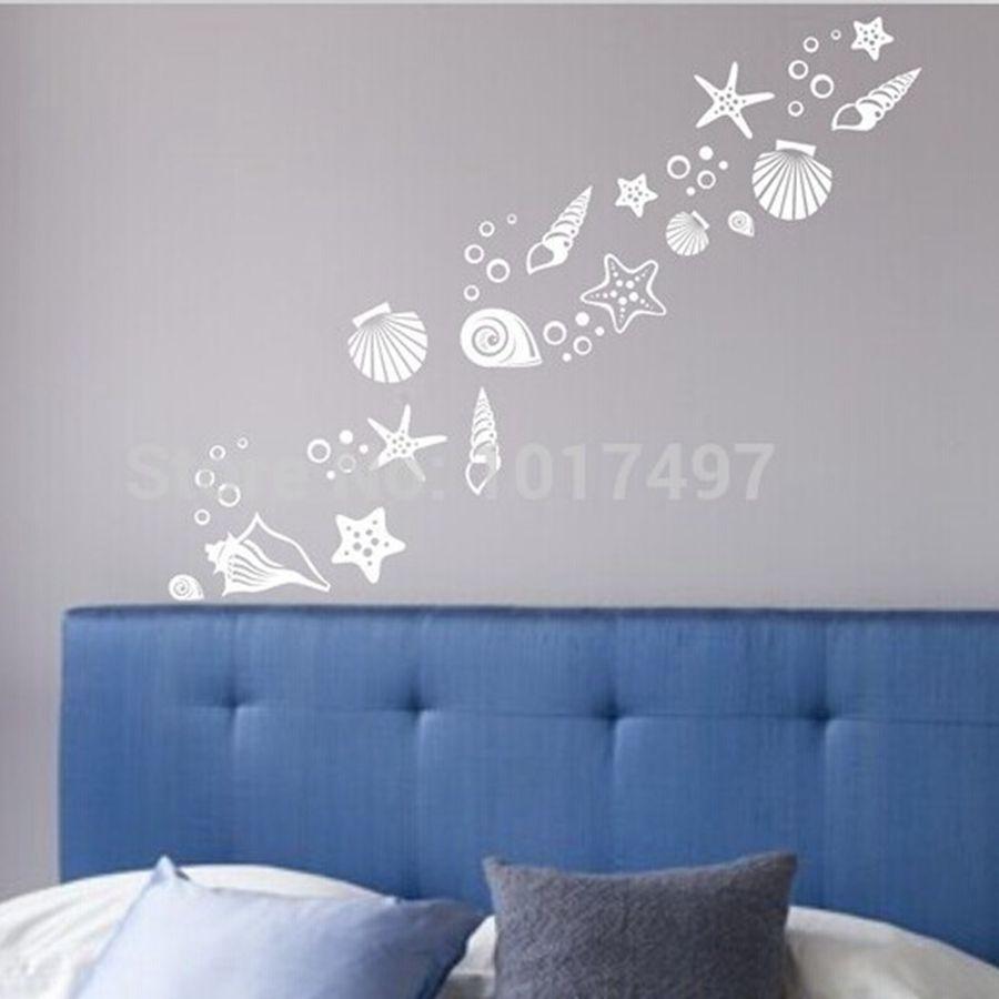 Beach wall decor stickers