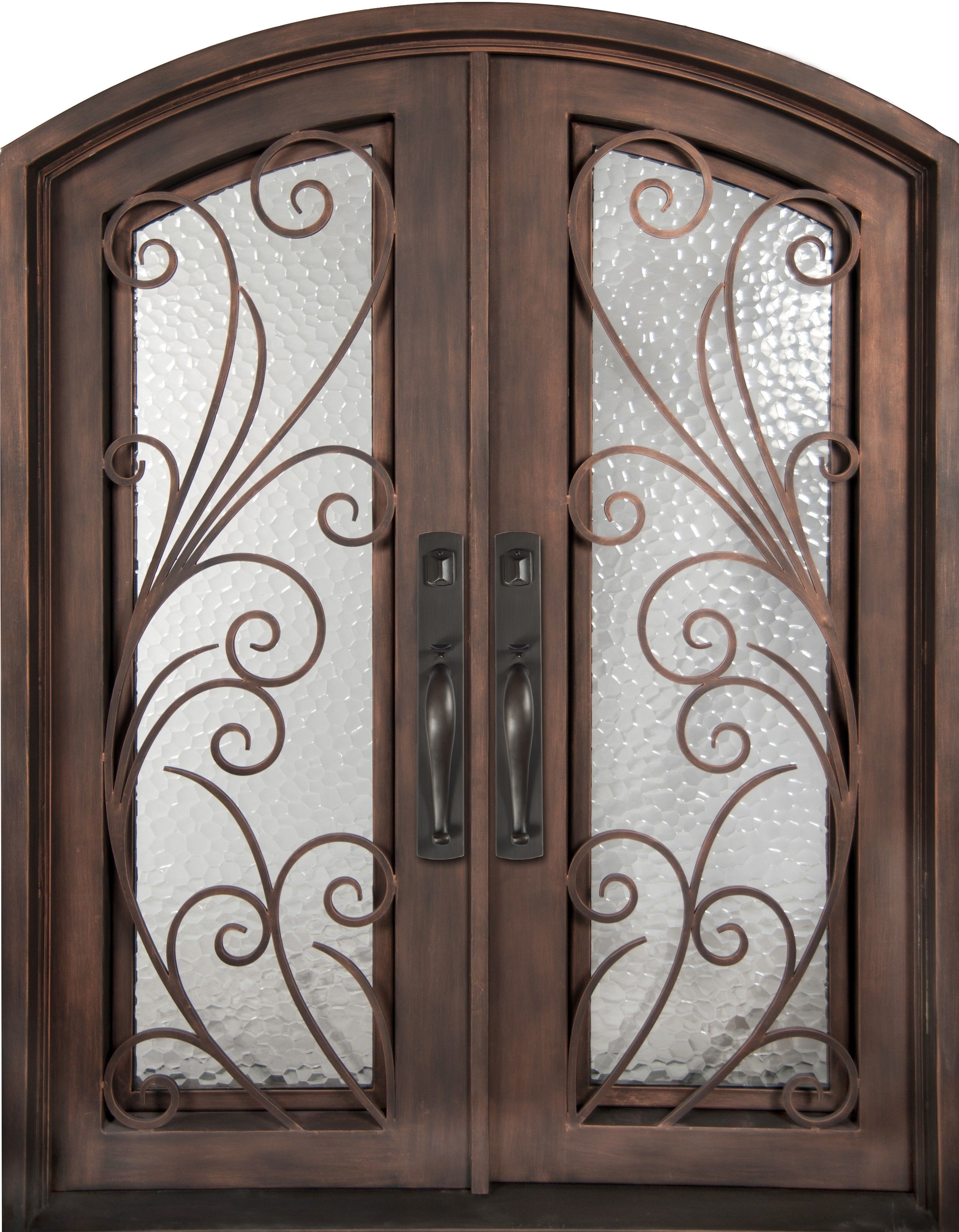 Iron double front doors las vegas - Beautiful Wrought Iron Exterior Doors At Discount Prices In Houston Texas Hand Forged Grilles With Hand Finished Iron These Front Doors Are Cheap On