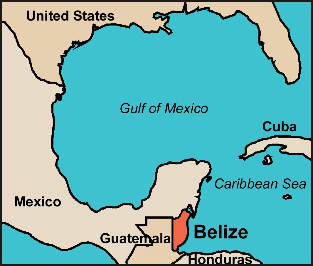 Map Of Central America Yucatan Peninsula.To Find Belize On A Map You Ll Have To Look Just South Of Mexico S