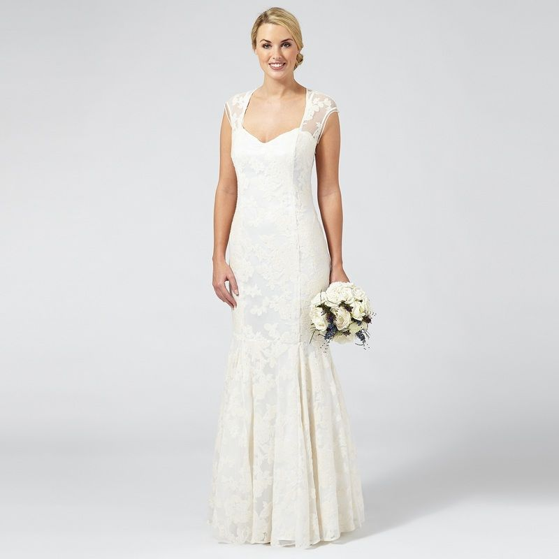 Debenhams are great for affordable but bootyful bridal gowns and isn ...