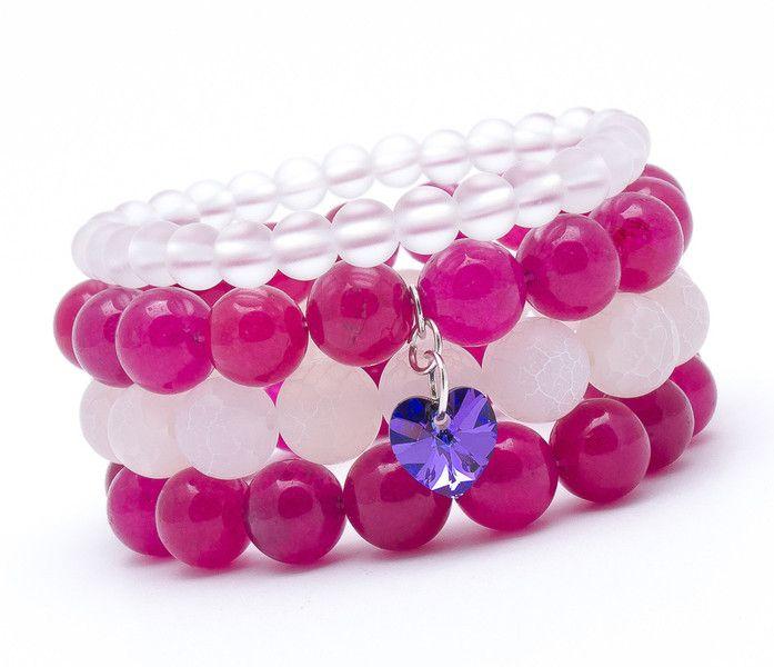 Wristbands & Bracelets – Set of 4 bracelets FK 999 – a unique product by Blackif on DaWanda