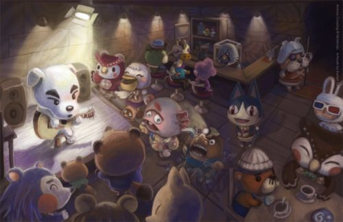 Animal Crossing K.K. Slider concert.
