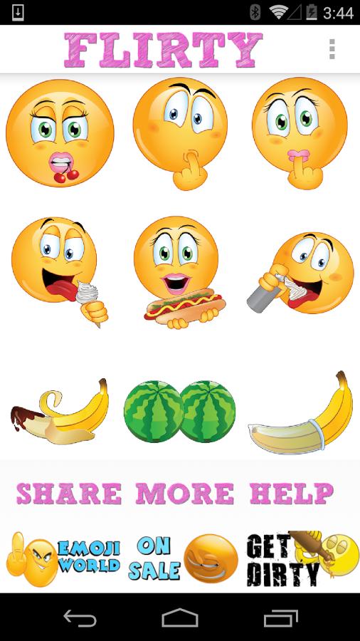 Flirty Emojis by Emoji World ™ App Ranking and Store Data