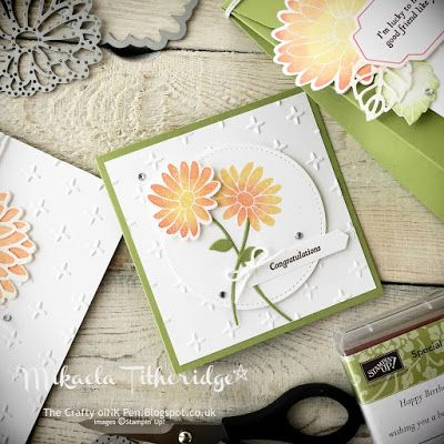 Mikaela Titheridge, Independent Stampin' Up! Demonstrator, The Crafty oINK Pen: Stylish Stems Framelits Dies for a Special Reason card class. Stitched Framelits. All supplies available through my online store.
