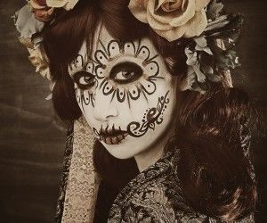 Day of the Dead - Halloween make up