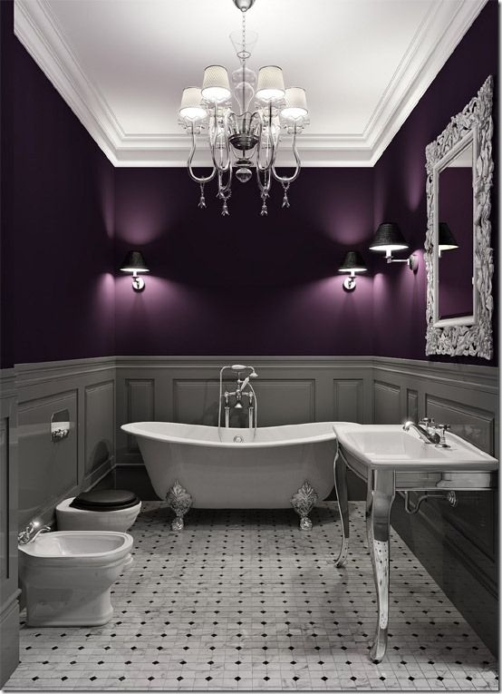 Light Grey Eggplant Color I Don T Have The Guts To Do This But It S Aubergine Gorgeous