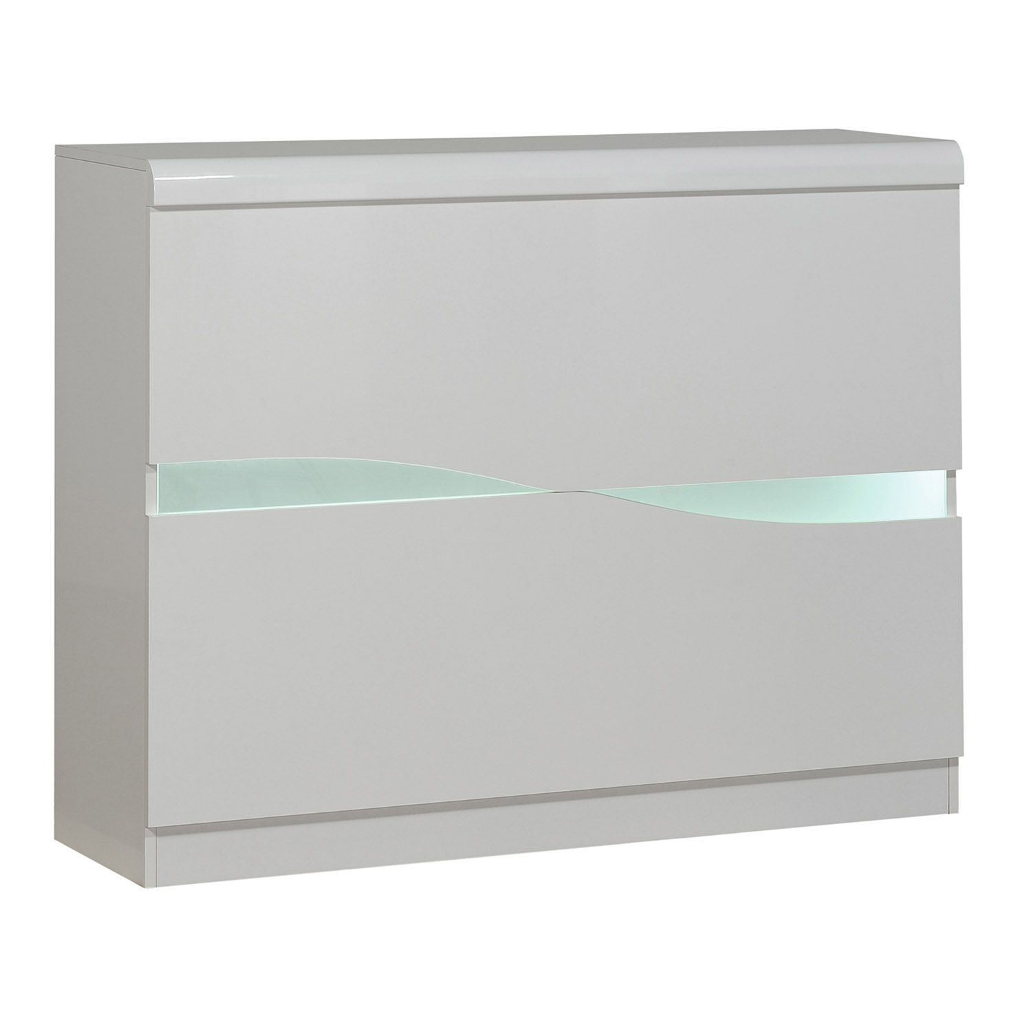 Ovio Bar Unit With Led Lights White Bar Unit Bar And Lights # Meuble Ovio Blanc
