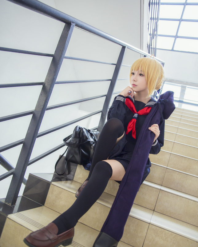 Sailor Saber cosplay Fate stay night💕💕 Saber cosplay