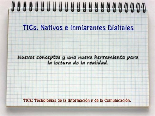 TICs Nativos e Inmigrantes Digitales 1 by Vinamiel via authorSTREAM