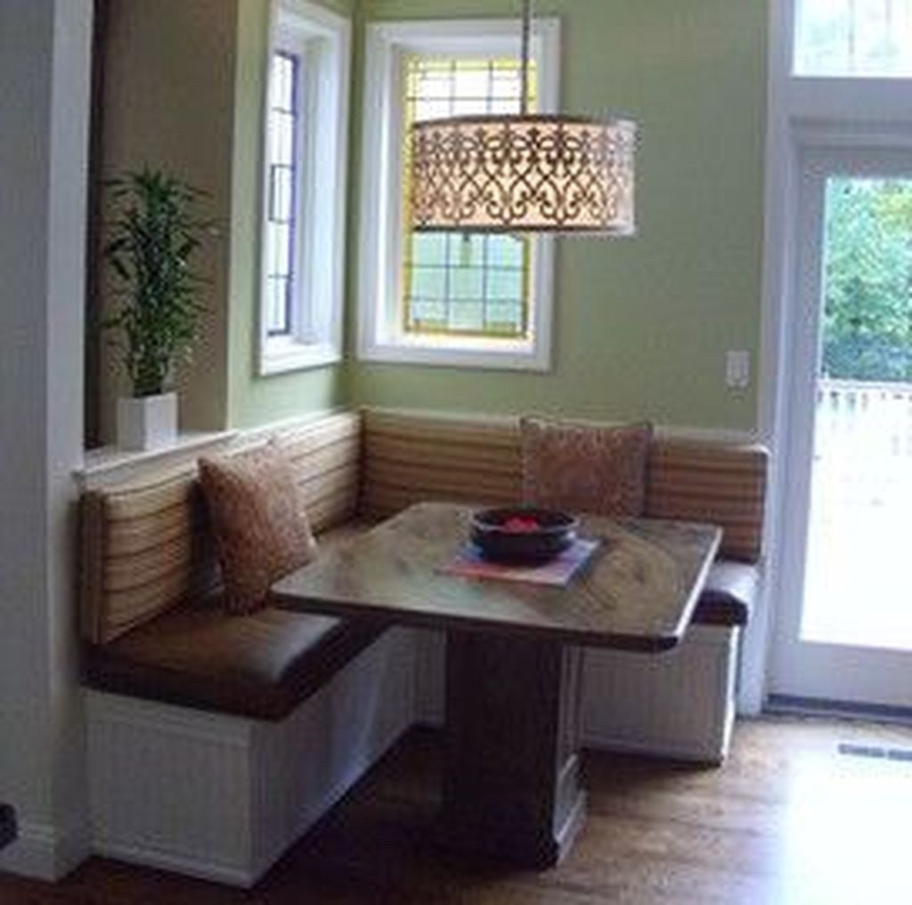 Cool Dining Room Booth Design Ideas 02 | Booth seating in ...
