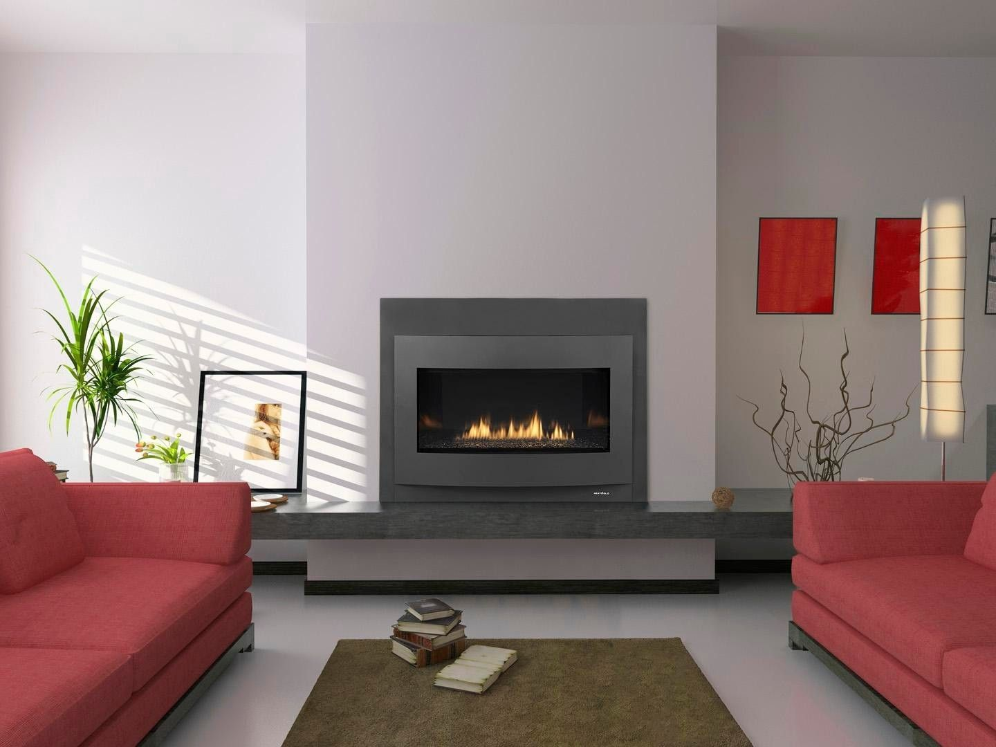 Contemporary Fireplace Designs Image By Susan White On My House Fireplace Contemporary Gas Fireplace Gas Fireplace Insert