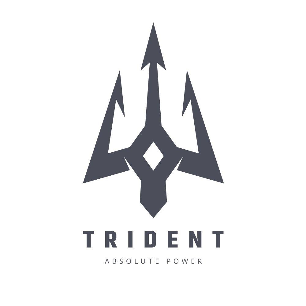 Poseidon Trident Logo Trident Logo Trishul Tattoo Designs