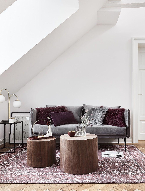 Modern Vintage In Diesem Wunderschonen Wohnzimmer Stimmt Einfach