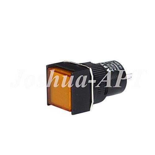 Apt 16mm 110v Ac Dc Yellow Square Led Pilot Light Panel I Https Www Amazon Com Dp B06xpkvwj1 Ref Cm Sw R Pi Dp X Eu75yb7f Light Panel Indicator Lights Led