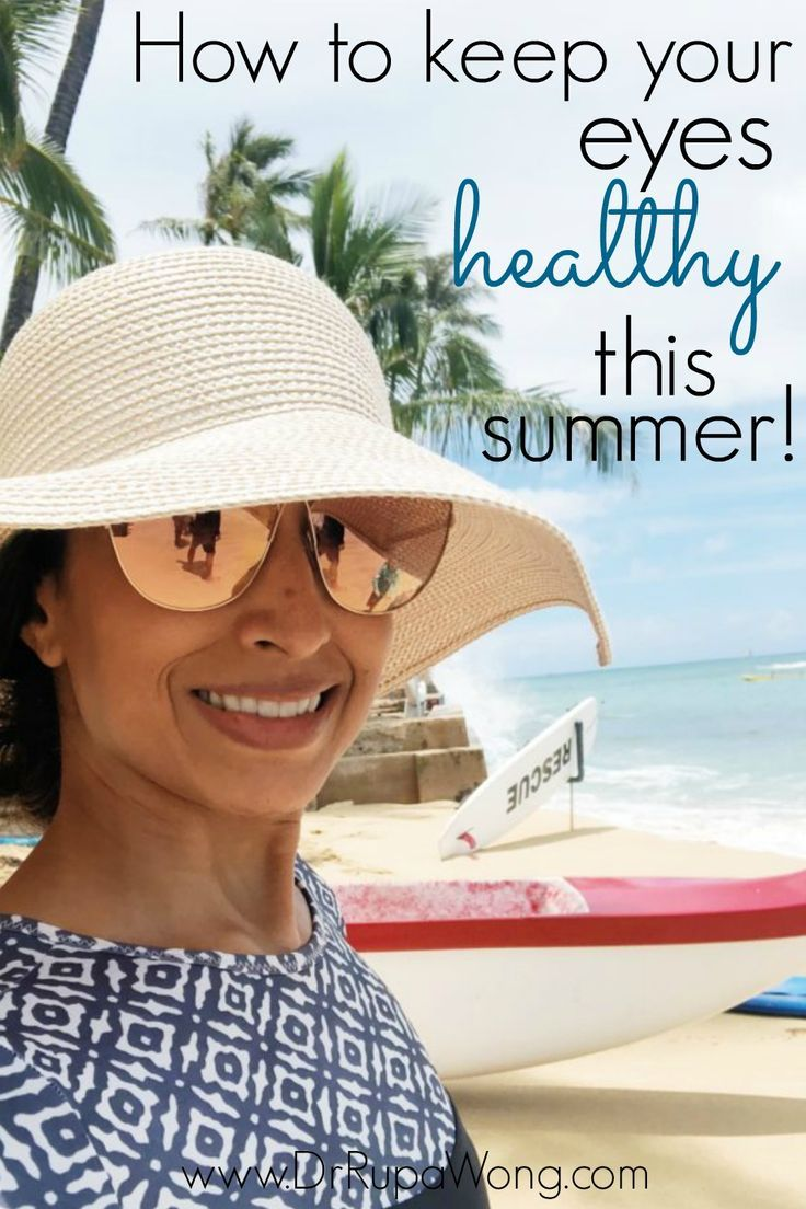 Keep Your Eyes Healthy This Summer is part of Eye health facts, Eye health remedies, Eye health, Health facts, Health tips, Health healthy - Of course, summer is year round in Hawaii, but for the rest of y'all, it's about to be peak summer time  Protecting