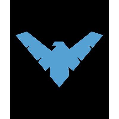 Crover DC Comics Batman Nightwing Arkham Knight Superhero Logo Fleece Throw  Blanket 3c8943ddb
