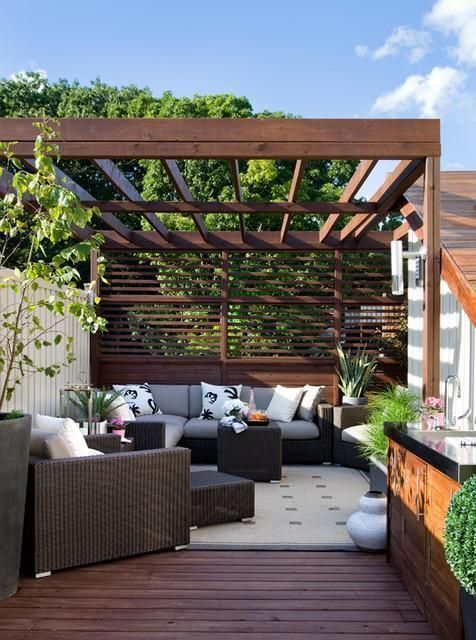 Home Architecture, Extraordinary Design Of Rooftop Deck With Sunrise ...