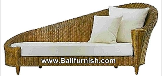 Wicker Indoor Chaise Lounge Furniture Indonesia Furniture