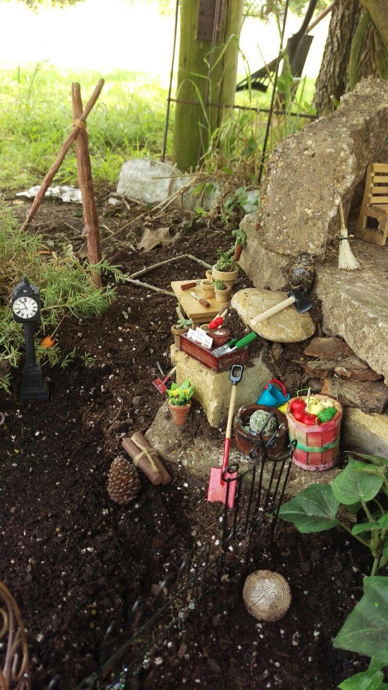 Making my fairy garden