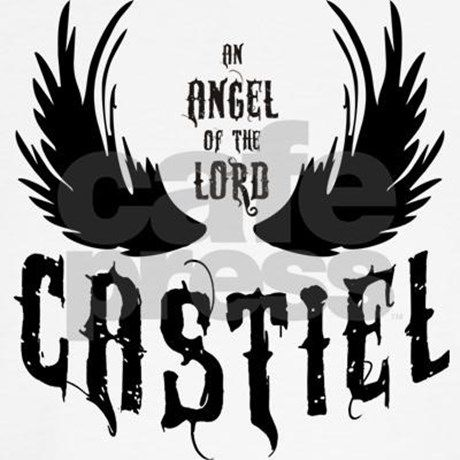 SUPERNATURAL Castiel Wings - Design Angel of the Lord - available in black and white. For a better overview, you are very welcome to visit my shop with more SPN Designs.