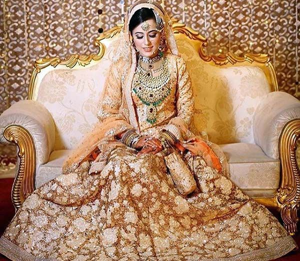 100 most beautiful indian bridal makeup looks dulhan for Indian muslim wedding dress
