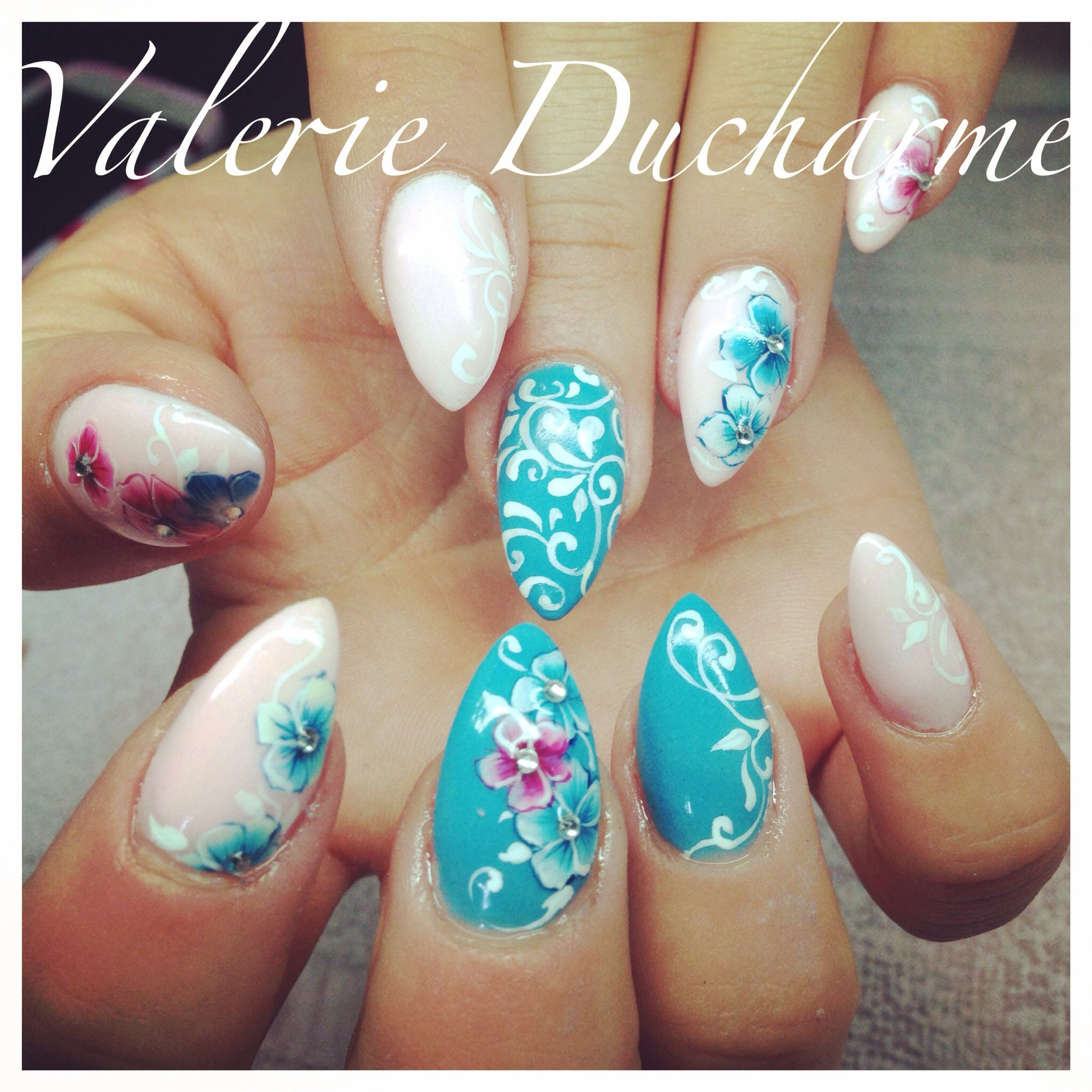 By Valrie Ducharme At Studio 2075 Nails Art Nail Design