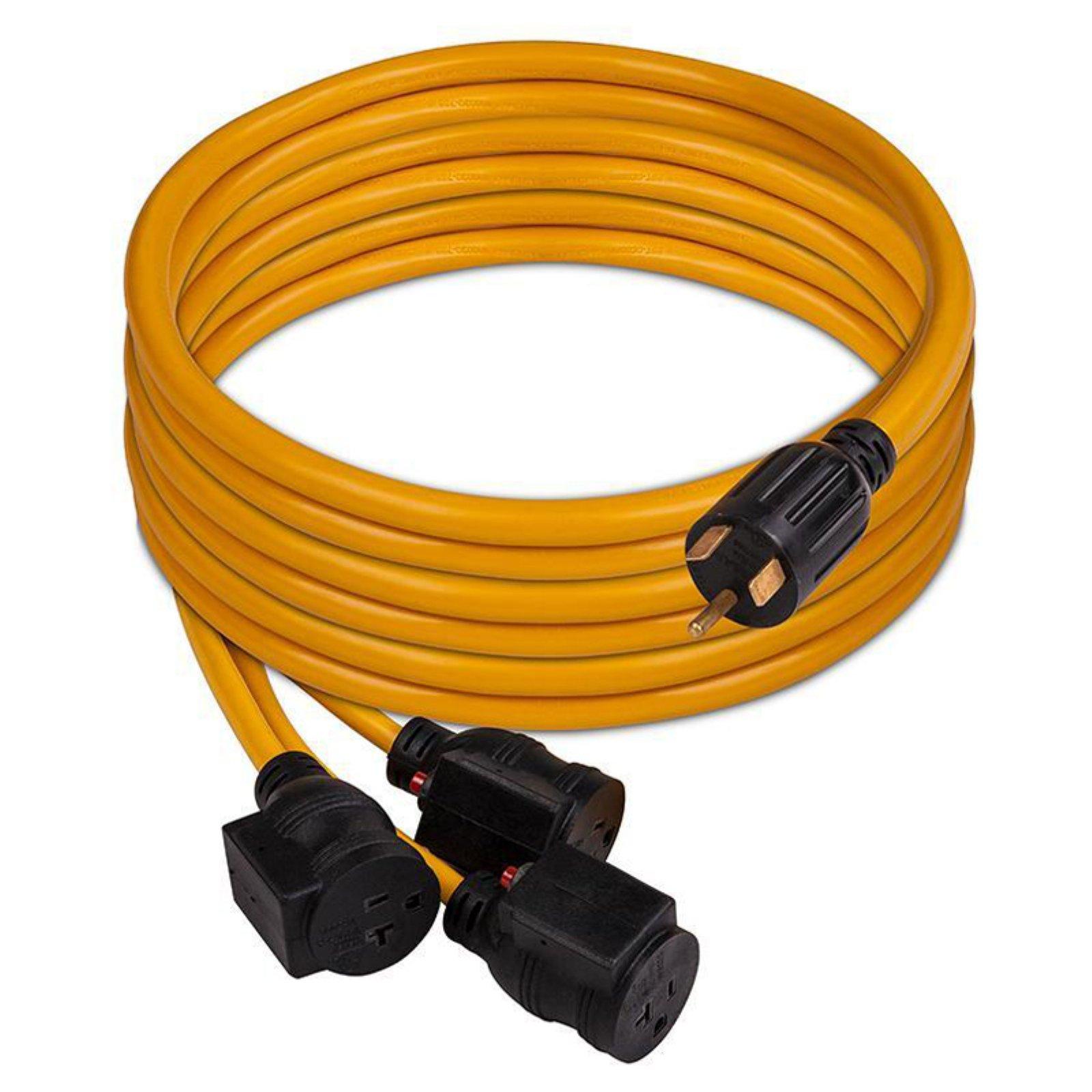 Firman Power Equipment 30 AMP Generator Power Cord for TT