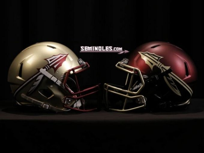 Fsu Unveils New Uniforms Logo Fsu Football Football Helmets College Football Helmets