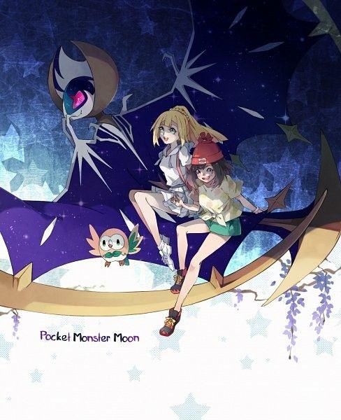 Lillie Wallpaper Sun And Moon Artist Windoge Zerochan Pokemon Anime