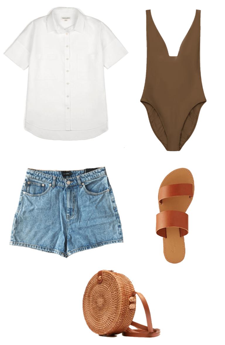 What's in My Summer 2019 Travel Capsule Wardrobe #travelwardrobesummer