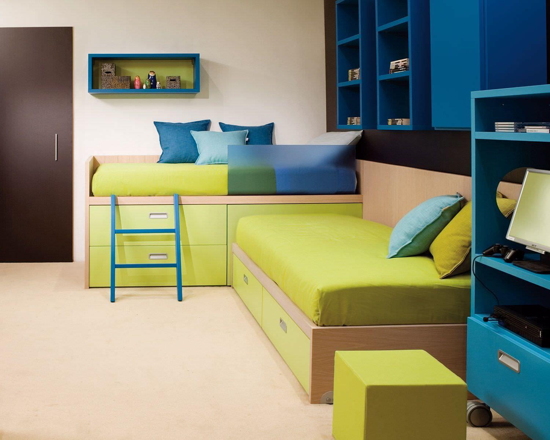 Kombiniertes Bett Modern Fur Kinder Jungen Und Machen Compact