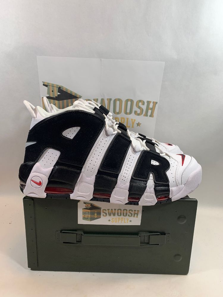 new concept b26f5 22d76 Nike Air More Uptempo PE White Black Red 96  size 13 Scottie Pippen  414962-105  Nike  AthleticSneakers