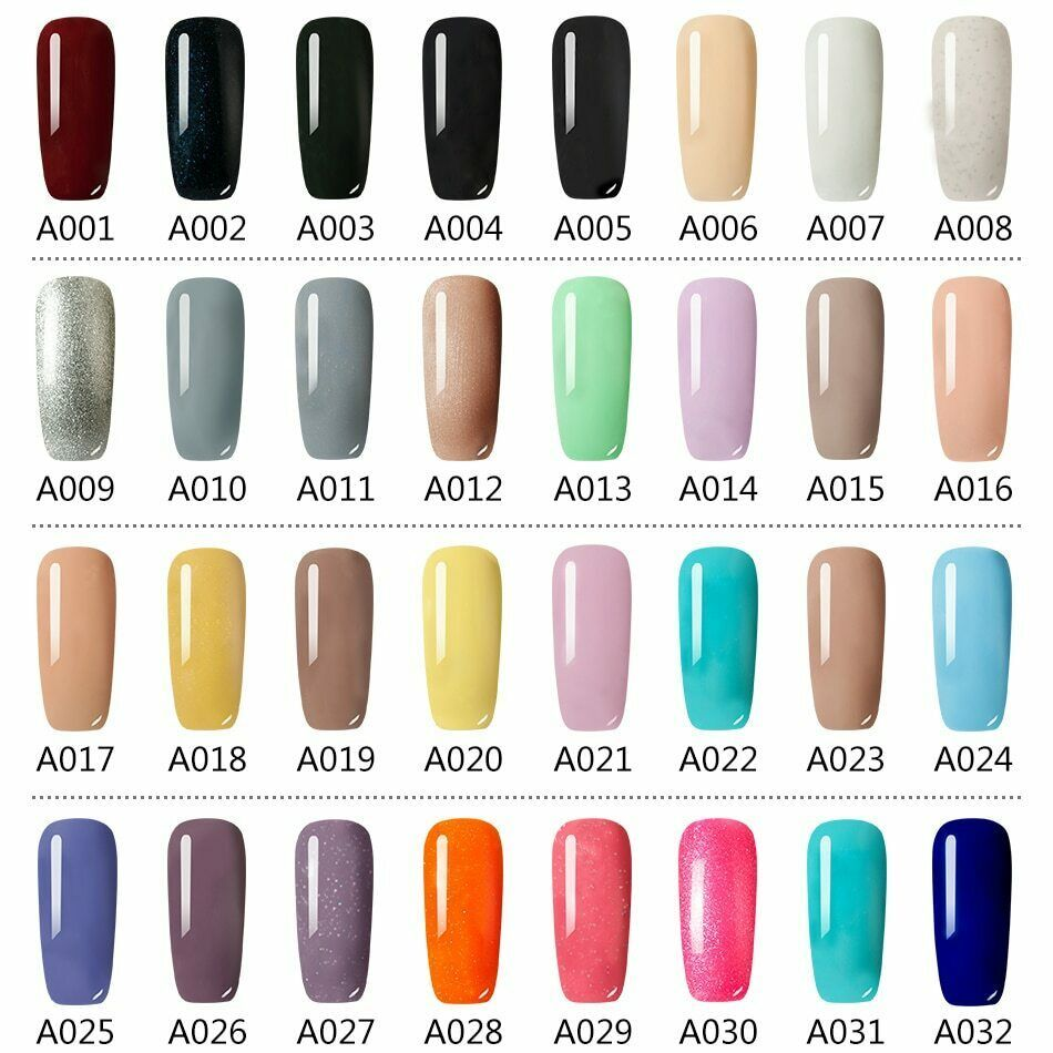 Rohwxy Uv Gel Nail Polish Hybrid Nails Soak Off Varnish Semi Permanent Top Base Ebay Gel Nail Varnish Gel Manicure Uv Nails