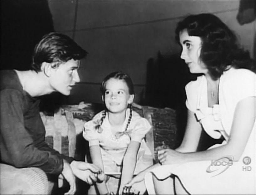 Roddy Mcdowall And Elizabeth Taylor Roddy McDowall,...