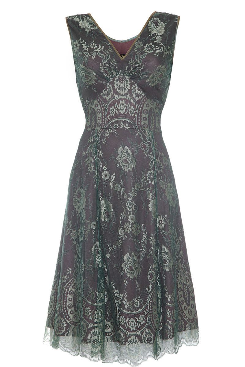The Kristen Reef/Teal Lace Dress from Nancy Mac is the perfect occasion dress and features a jewel-like two tone effect. Shop now at www.lux-fix.com