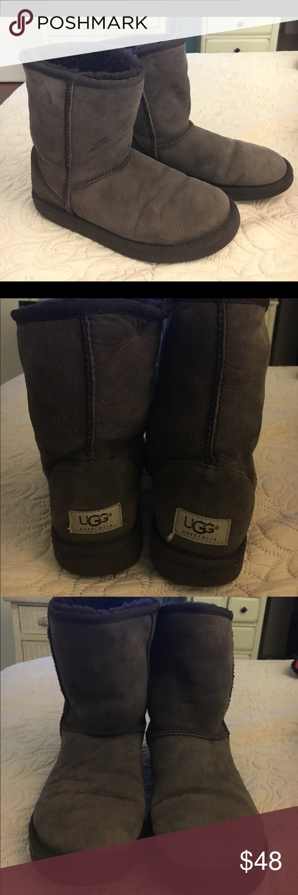 Ugg Australia Classic Short Boot Comfy Pair Of Ugg Boots Ugg Shoes Ankle Boots Booties Boots