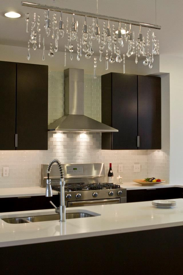 Best Espresso Cabinets White Quartz And Crystals Interiors By 400 x 300