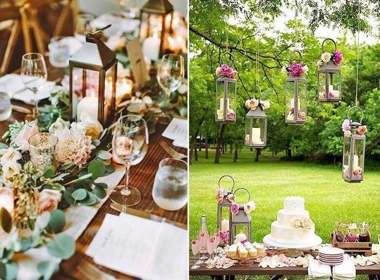 Garten Dekoration Hochzeit Hochzeitsfeier Im Freien Wenn Die